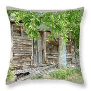 Antiques Sold Here Throw Pillow