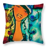 Antoinette Throw Pillow