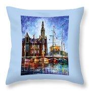Antwerp - Belgium Throw Pillow