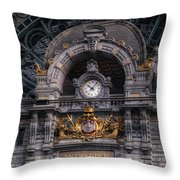 Antwerp Central Throw Pillow