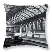 Antwerp Central Station II Throw Pillow