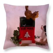 Any Mail Throw Pillow