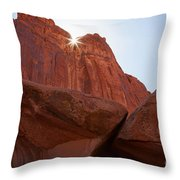 Stars In My Crown Throw Pillow