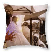 Anything For A Sale Throw Pillow
