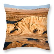 Anza Borrego Coachella Valley By Diana Sainz Throw Pillow