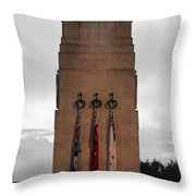 Anzac Day 2014 Auckland Museum Cenotaph Throw Pillow