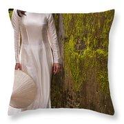 Ao Dai 03 Throw Pillow