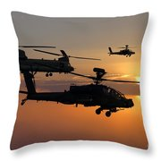 Apache Escort  Throw Pillow