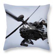 Apache Longbow Throw Pillow