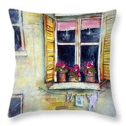 Apartment 9 Throw Pillow