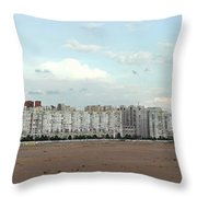 Apartment Blocks At The Waterfront, St Throw Pillow