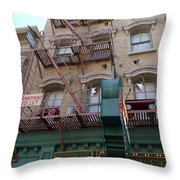 Apartment To Let At Finnegans Throw Pillow