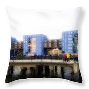 Apartments Rotterdam Throw Pillow