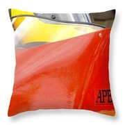 Apba Boat And Helmet 24291 Throw Pillow