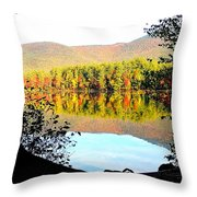 Aperture Throw Pillow