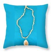 Aphrodite Gamelioinecklace Throw Pillow by Augusta Stylianou