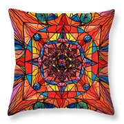 Aplomb Throw Pillow by Teal Eye  Print Store