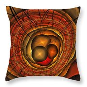 Apocolypse Growth Rings Throw Pillow