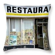 Apollo Eleven Restaurant Throw Pillow