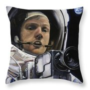 Apollo- For Mankind Throw Pillow