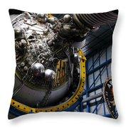 Apollo Mission Space Craft Throw Pillow