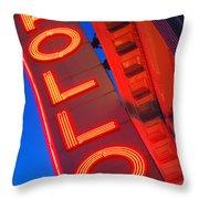 Apollo Nights Throw Pillow