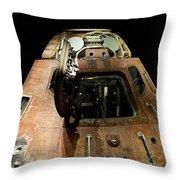 Apollo Space Capsule Throw Pillow