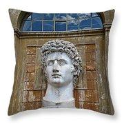 Apollo Statue At The Vatican Throw Pillow