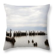 Apostles Of The Salton Sea Throw Pillow