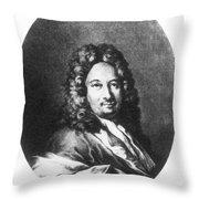 Apostolo Zeno (1668-1750) Throw Pillow