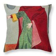 Apothecary, 15th Century Throw Pillow