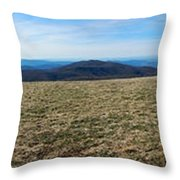 Appalachain Trail Bald Throw Pillow
