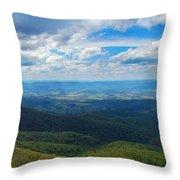Appalachain Trail View Throw Pillow