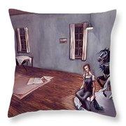 Appalachian Carousel Throw Pillow