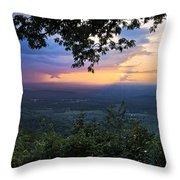 Appalachian Mountains Throw Pillow