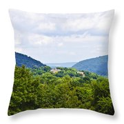 Appalachian Mountains West Virginia Throw Pillow