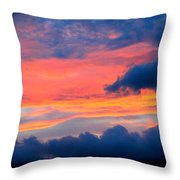 Appalachian Sunset Throw Pillow