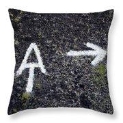 Appalachian Trail Symbol Throw Pillow