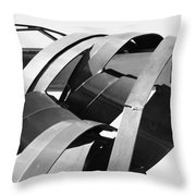 Apparitions Of Faces  Throw Pillow