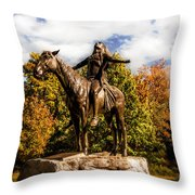 Appeal To The Great Spirit Throw Pillow by Tamyra Ayles