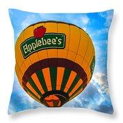 Appelbee's Hot Air Balloon Throw Pillow