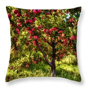 Apple Orchard II Throw Pillow