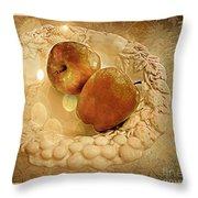 Apple Still Life 4 Throw Pillow
