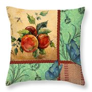 Apple Tapestry-jp2203 Throw Pillow