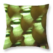 Apples Abstract 3 Throw Pillow