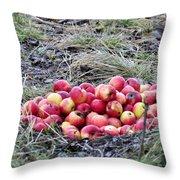 #apples Throw Pillow