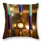 Appointed Lights Throw Pillow