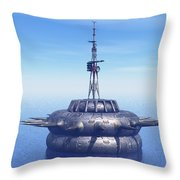 Approach With Extreme Caution Throw Pillow