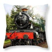 Gwr Erlestoke Manor Throw Pillow