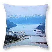 Approaching Juneau Throw Pillow